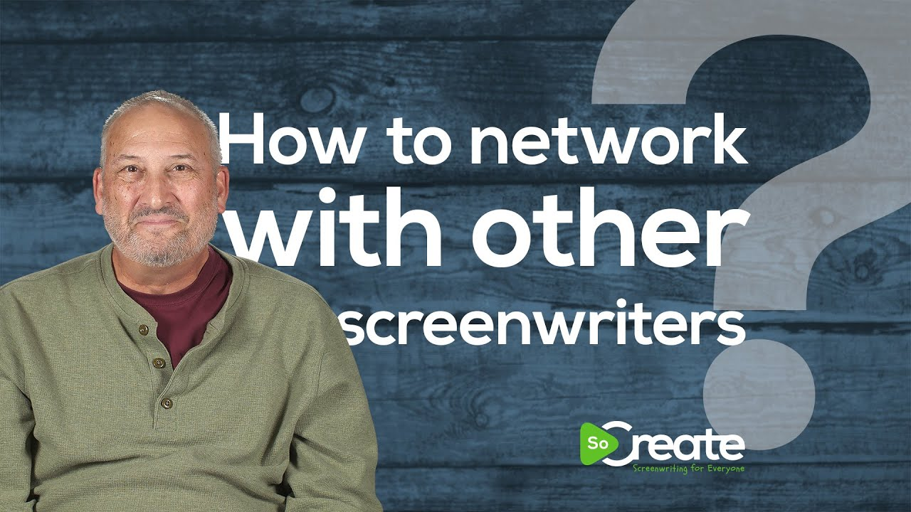 Veteran TV Writer Ross Brown: Here's How to Network with Other Screenwriters
