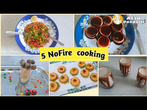Fireless challenge    No fire cooking  recipe   Arsh Paradise