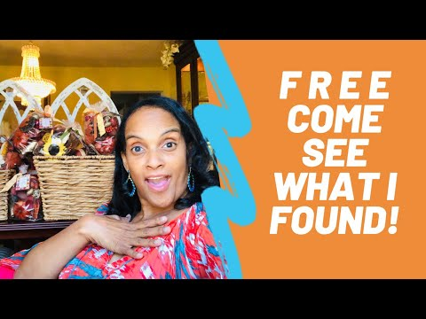 FREE Come See What I Found ~ Dumpster Goodies ~ by The Frugalnista