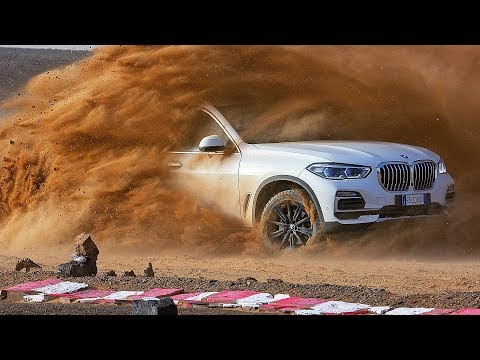 BMW X5 (2019) High Speed In Sahara Sand