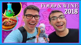 SPENT ENTIRE PAYCHECK AT EPCOT FOOD AND WINE 2018   Walt Disney World Vlog