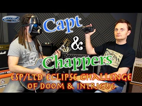 Capt & Chappers Blindfold ESP Eclipse Challenge Of Doom & Intrigue