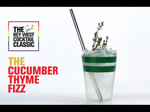 The Cucumber Thyme Fizz: A Stoli Key West Cocktail Classic Winning Recipe