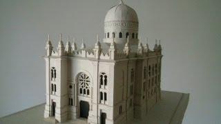 Chernivtsi. JEWISH SYNAGOGUE TEMPEL. Еврейская синагога в Черновцах