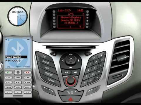 Ford Fiesta Mobiltelefon verbinden
