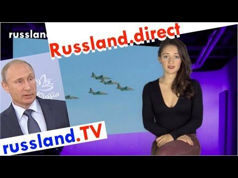 Putins umstrittener Syrien-Einsatz [Video]