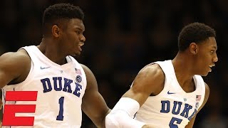 Zion Williamson and Cam Reddish lead the way for Duke in 94-72 win vs. Army | CBB Highlights