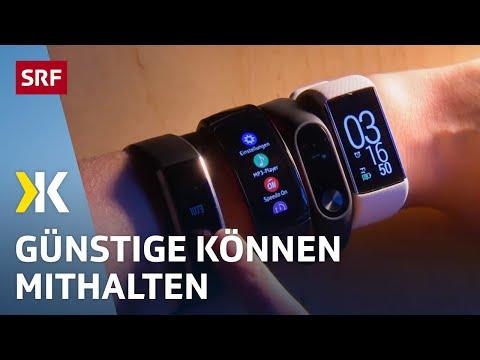 Fitnesstracker im Test: Diese halten im Training mit  | 2018 | SRF Kassensturz