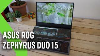 ASUS ROG Zephyrus Duo 15, análisis: la doble pantalla se atreve en un portátil gaming