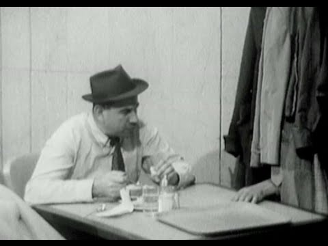 Humor video E-cards, A 1960s classic at a New York City restaurant where a mysterious hand hunts for food Subscribe. Funny Humor
