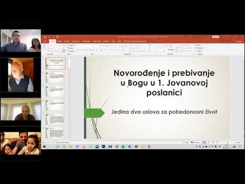 Dragan Đorđević: Novorođenje i prebivanje u Bogu u 1. Jovanovoj poslanici