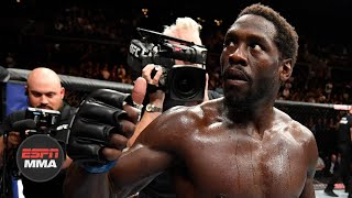 Jared Cannonier updates status from pectoral surgery | ESPN MMA