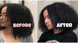 How to Safely Trim Natural 3c/4a Curly Hair