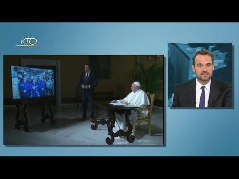Le Pape et les astronautes, Manipulations génétiques, OEcuménisme et l'actu de la semaine