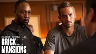 Пол Уокер, Brick Mansions - 'Don't Get Squashed' clip