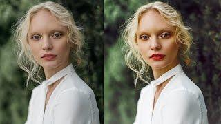 How I Edit My Fashion Portraits - Photoshop Tutorial