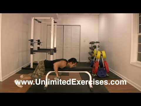 Free Weights - Double Dumbbell Lying Rows Elbows Out