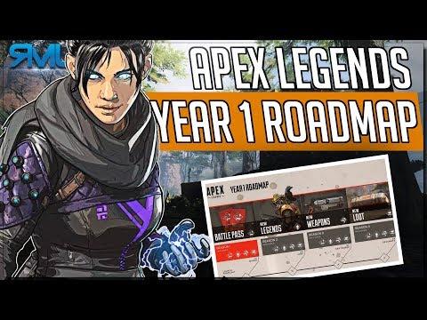 Apex Legends Road Map - Battlepass, New Legends & More - Apex Legends News