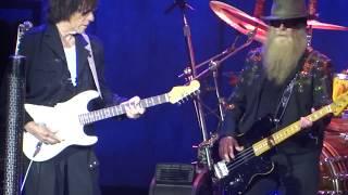 ZZ Top Live 2015 =] Rough Boy w/Jeff Beck [= Woodlands, Tx