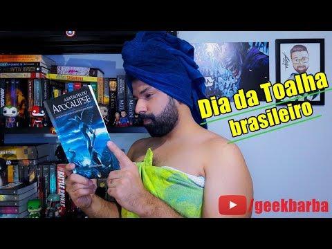 Livros brasileiros para nerds | Dia da Toalha!