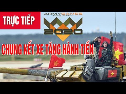 TRỰC TIẾP: Việt Nam thi đấu chung kết 'Xe tăng hành tiến Army Games 2020'