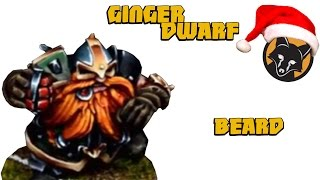 Painting A Ginger Beard