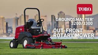 Toro® Groundsmaster® 3200/3300