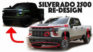 2020 Chevy Silverado 2500 Re-design! The Green Mean Machine