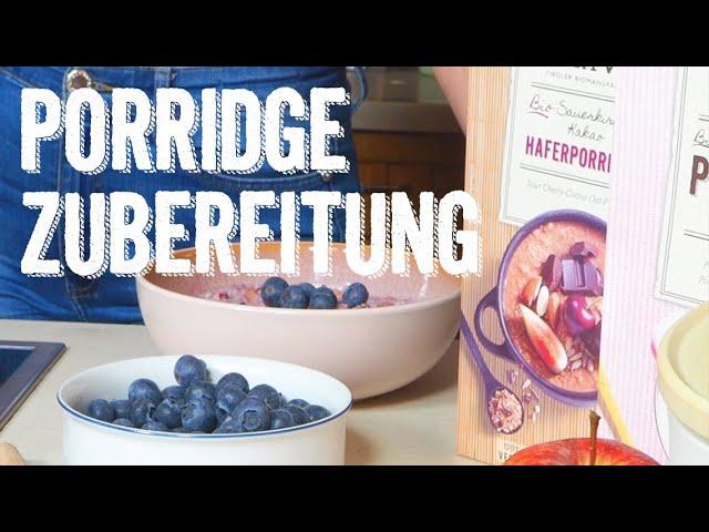 Porridge zubereiten: Topf, Mikrowelle und Wasserkocher - Verival