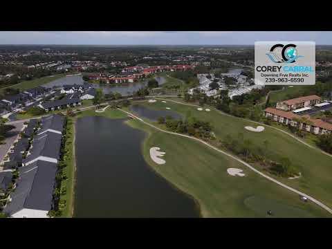 Countryside Golf & Country Club Naples FL 360 aerial Real Estate Homes & Condos