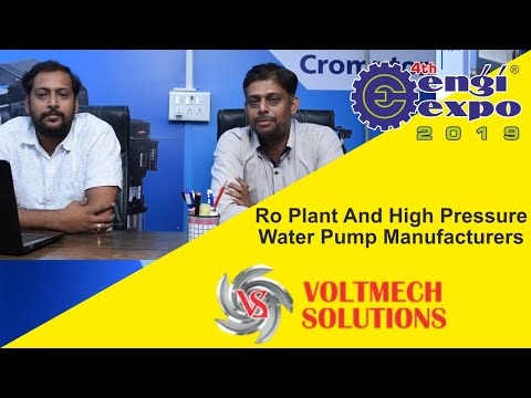Industrial RO Plant and High Pressure Water Pump – Manufacturers – Vadodara, India