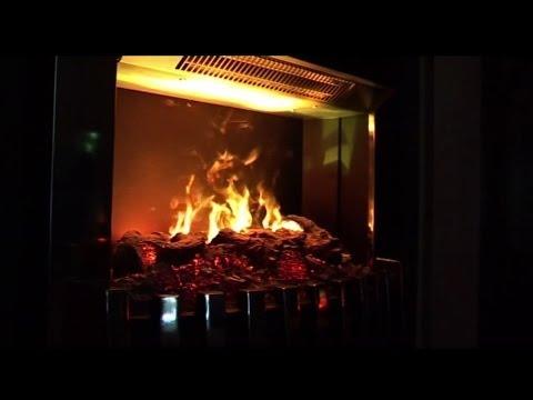 Dimplex Danville Chrome Opti-myst® Electric Fire