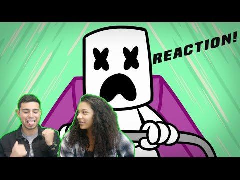 Marshmello - You & Me (Official Music Video) | REACTION