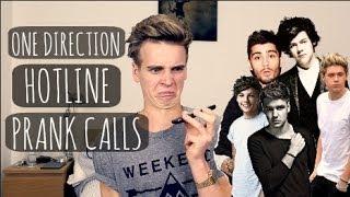 One Direction Hotline Prank Calls  ThatcherJoe