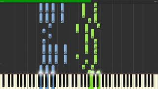 Fall Out Boy - Bishop's Knife Trick Piano Tutorial
