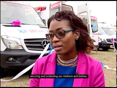 EU-JAMAICA delivers ambulances to support maternal and child health in rural Jamaica.