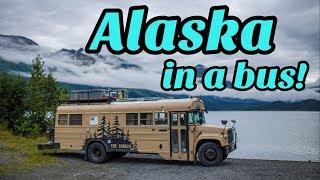 Alaska In A Converted School Bus!   Kenai Peninsula #skoolie #alaska #vanlife