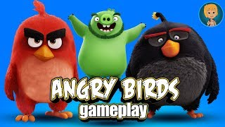 ANGRY BIRDS Gameplay Part 3 (Gertit ToysReview)