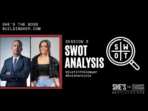 , title : 'She's the Boss - SWOT Analysis - Session 3