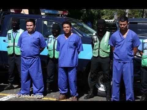 Policía Nacional captura delincuentes autores de homicidios en Tipitapa