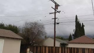 January 2, 2017 - Stealth Bomber - After Rose Parade Flyover