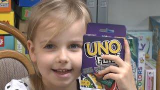 Uno Flip (Mattel) - ab 7 Jahre - Teil 4 der UNO Reihe