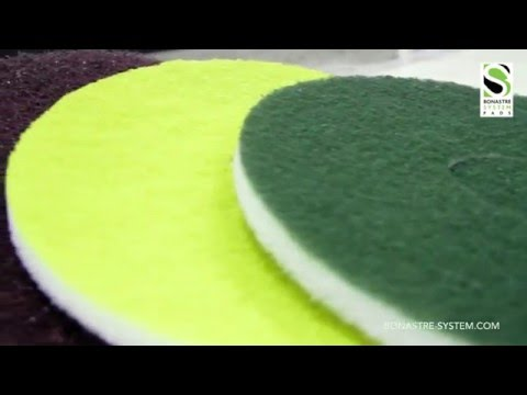 BONASTRE PADS  The Floor polishing revolution !!!