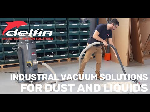 Delfin Zefiro Cube 10 Industrial  Dust Collector For Thin Dust In Air Suspension