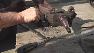 How To I Beam Axle Pivot Bushing Replacement F100 Episode