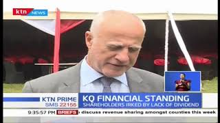 KQ Financial standing | Shareholders probe state of airline as carrier holds annual meet in Nairobi