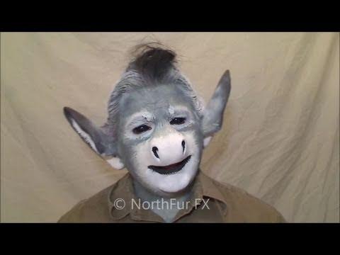 & Horse/Donkey Nose [050] : Northfur FX latex prosthetic faces