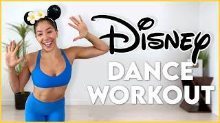 DISNEY DANCE WORKOUT (PART 1)  | Cardio Workout To Disney Songs (Moana, Aladdin, Mulan)