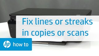 Fixing Vertical Bands, Lines, or Streaks in Copies or Scans