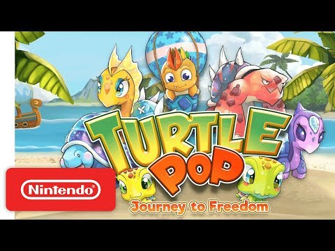 TurtlePop: Journey to Freedom Launch Trailer - Nintendo Switch thumbnail